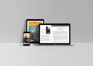 parabola-magazine-website